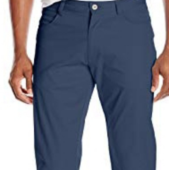 Original Penguin Mens Slim Fit Stretch 3XDry Pants